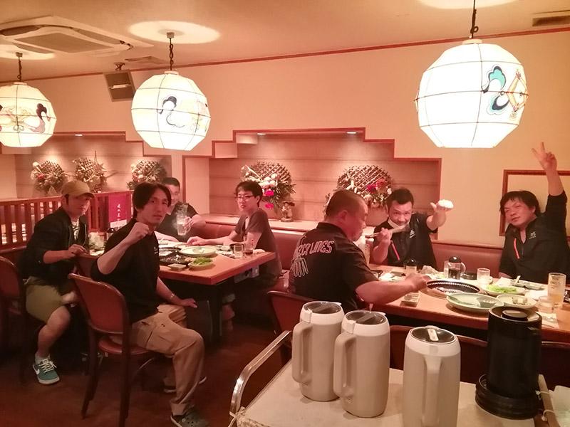アイルトランスポート会議後の食事会