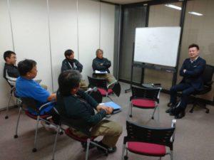 アイルトランスポート 11月安全対策会議